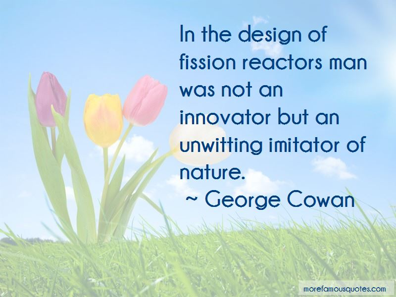 George Cowan Quotes