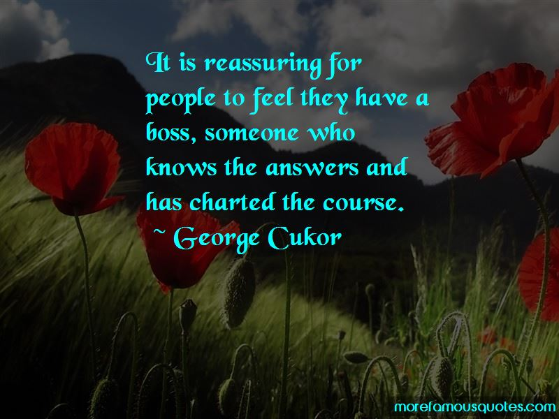 George Cukor Quotes Pictures 2