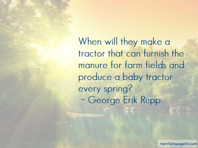 George Erik Rupp Quotes