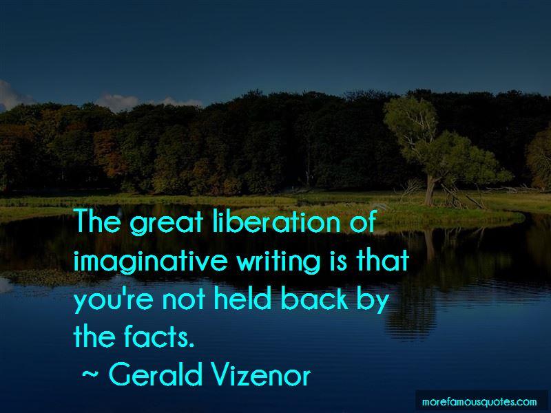 Gerald Vizenor Quotes Pictures 3