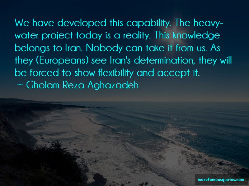 Gholam Reza Aghazadeh Quotes Pictures 3