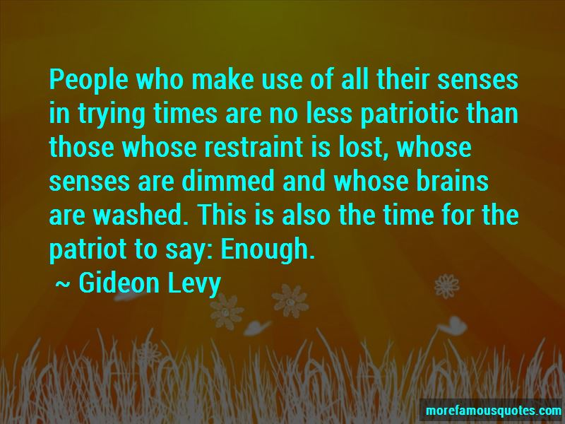 Gideon Levy Quotes Pictures 2