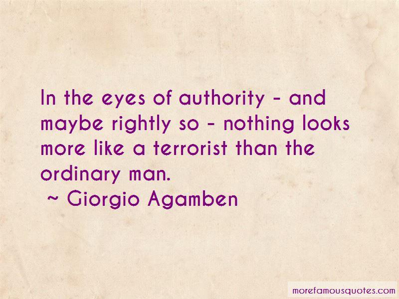 Giorgio Agamben Quotes Pictures 3
