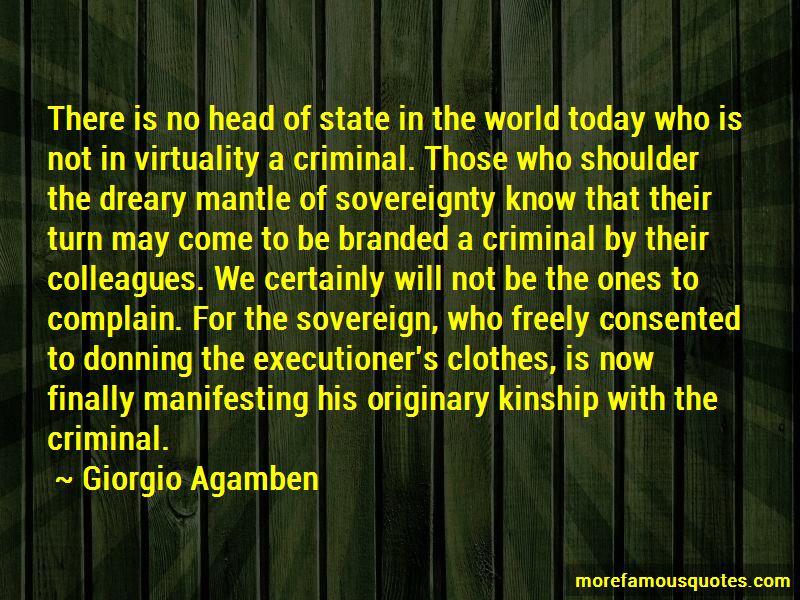 Giorgio Agamben Quotes Pictures 4
