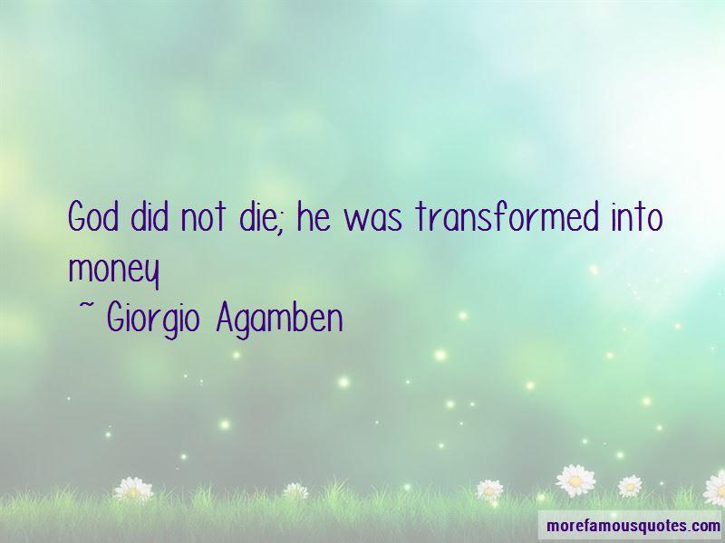 Giorgio Agamben Quotes