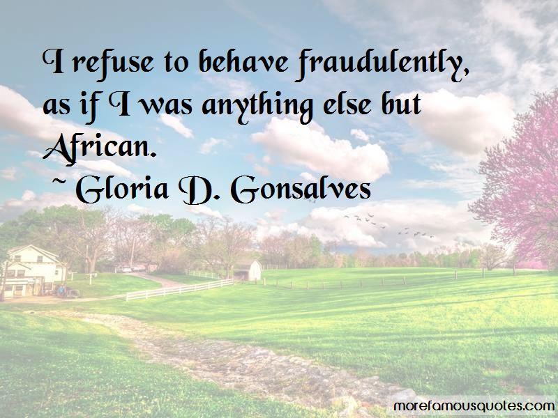 Gloria D. Gonsalves Quotes Pictures 2