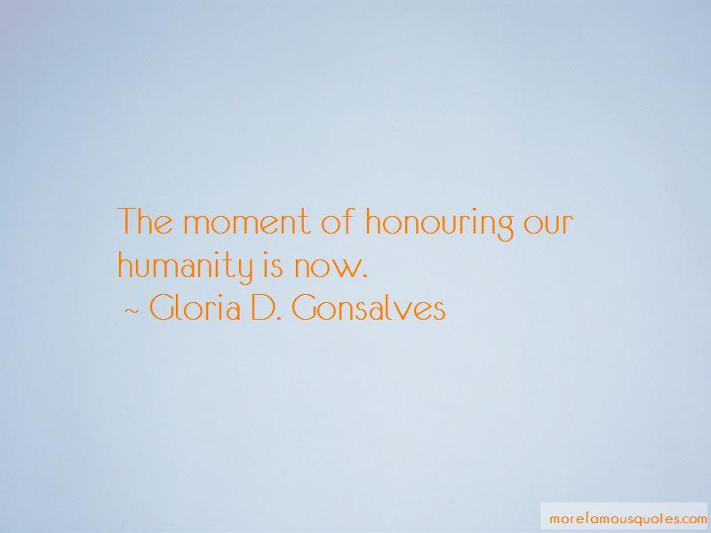 Gloria D. Gonsalves Quotes Pictures 3