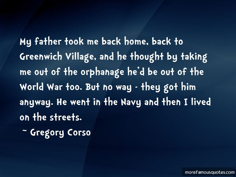 Gregory Corso Quotes Pictures 3