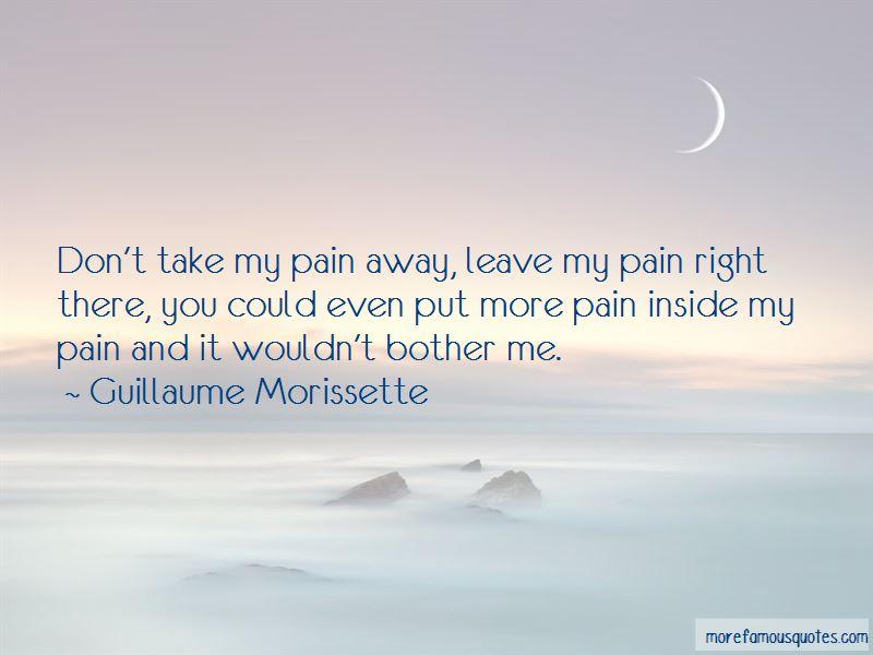 Guillaume Morissette Quotes