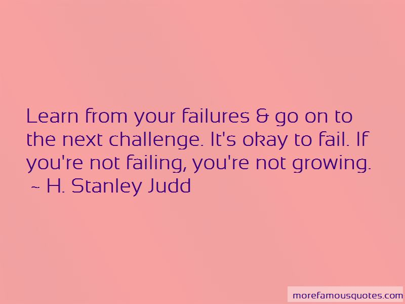 H. Stanley Judd Quotes