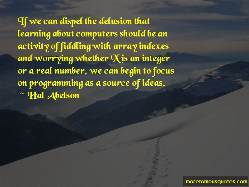Hal Abelson Quotes Pictures 3