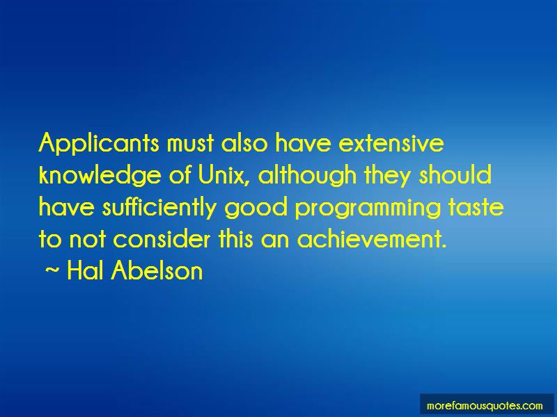 Hal Abelson Quotes Pictures 4