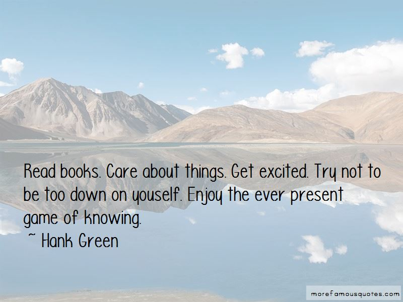 Hank Green Quotes Pictures 2
