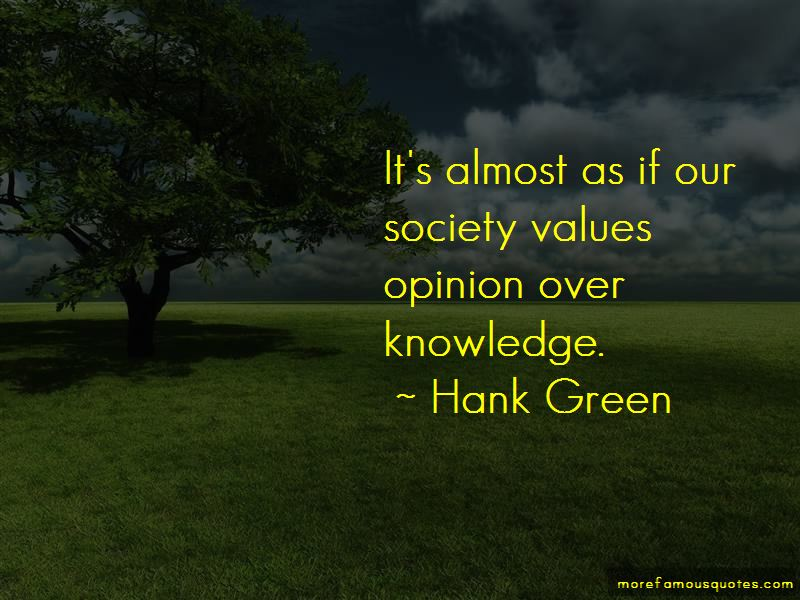 Hank Green Quotes