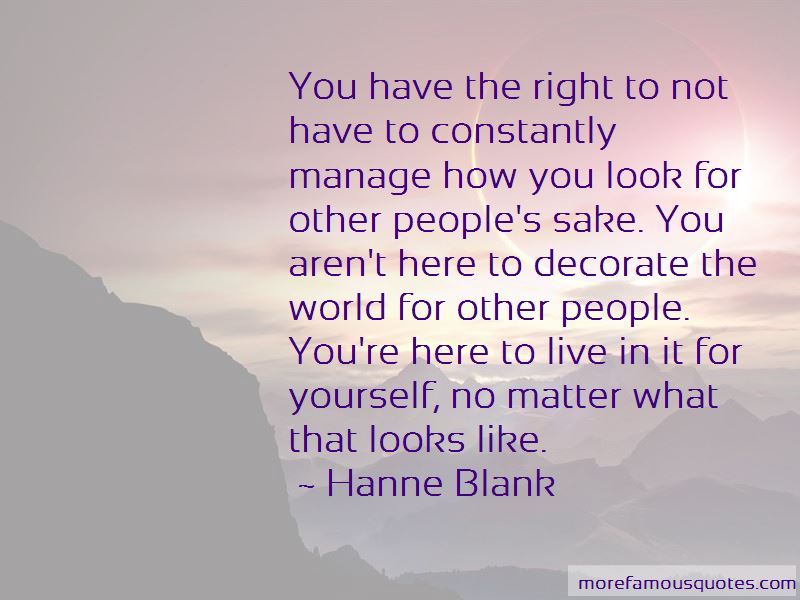 Hanne Blank Quotes Pictures 4
