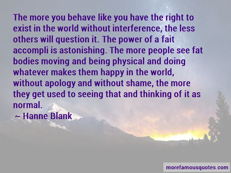 Hanne Blank Quotes