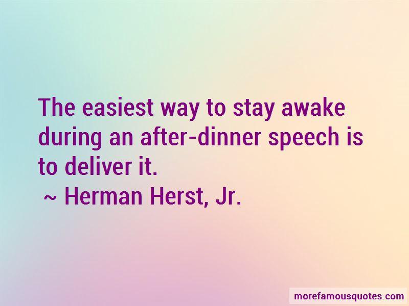 Herman Herst, Jr. Quotes
