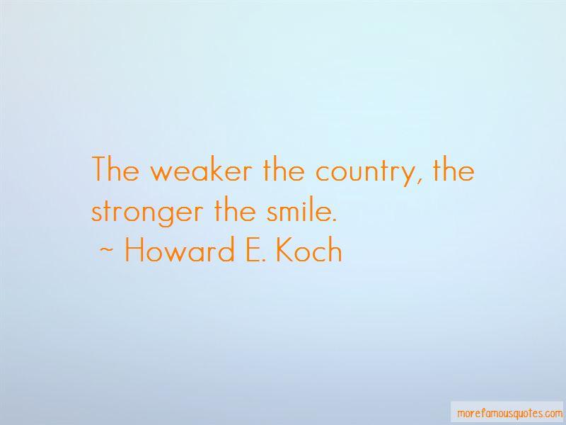Howard E. Koch Quotes
