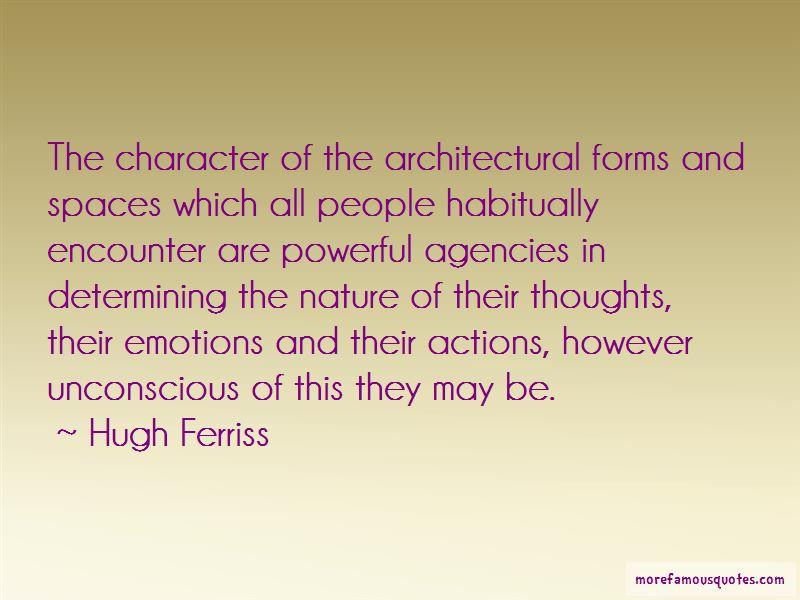 Hugh Ferriss Quotes Pictures 3