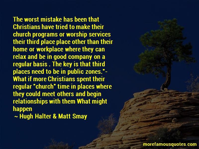 Hugh Halter & Matt Smay Quotes Pictures 2