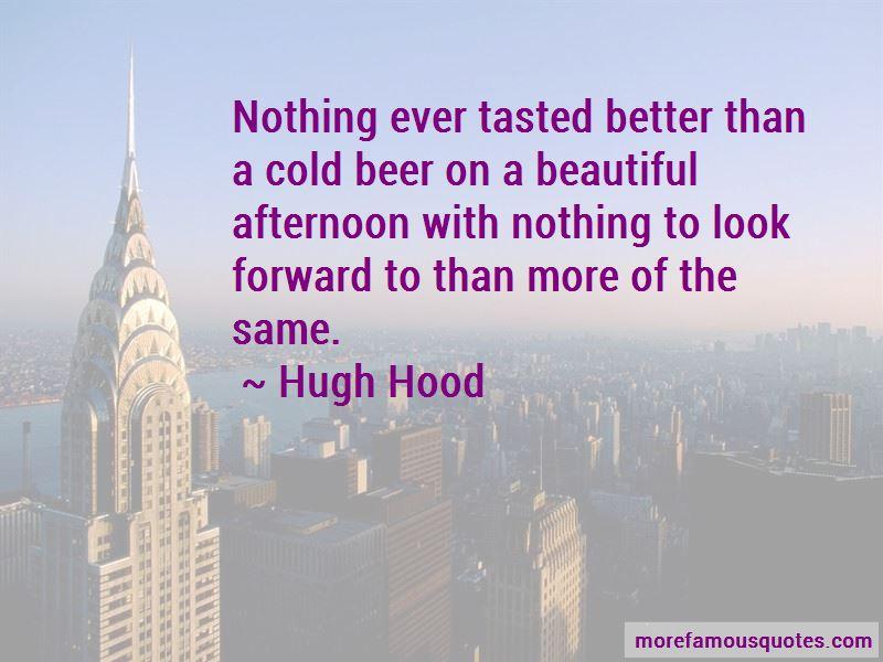 Hugh Hood Quotes