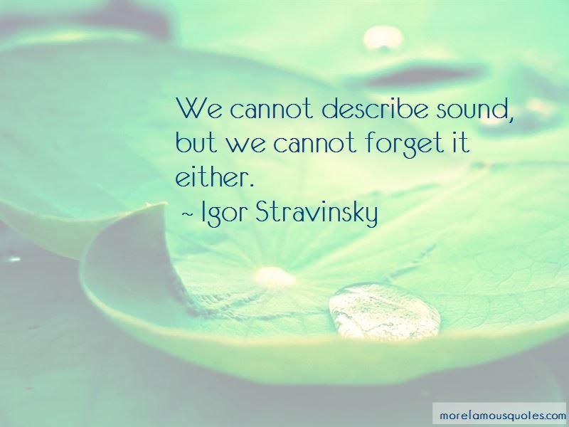 Igor Stravinsky Quotes Pictures 4