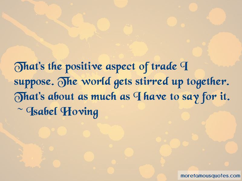 Isabel Hoving Quotes