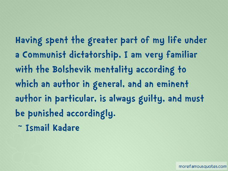 Ismail Kadare Quotes