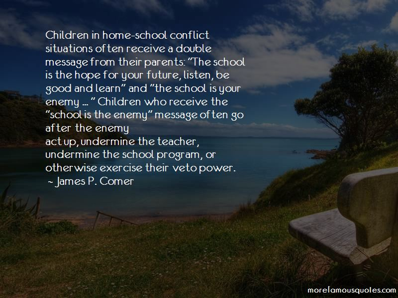 James P. Comer Quotes