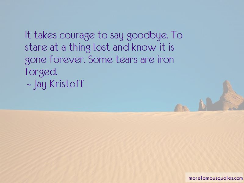 Jay Kristoff Quotes