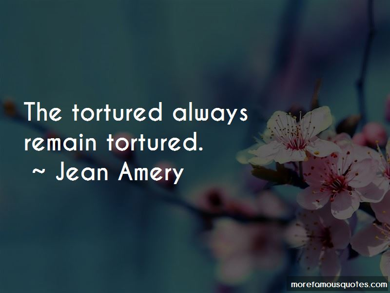 Jean Amery Quotes Pictures 2