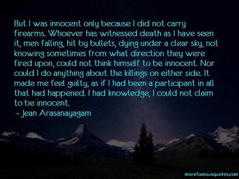 Jean Arasanayagam Quotes