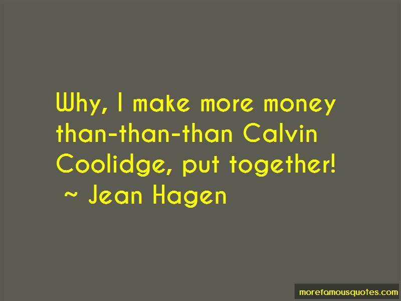 Jean Hagen Quotes