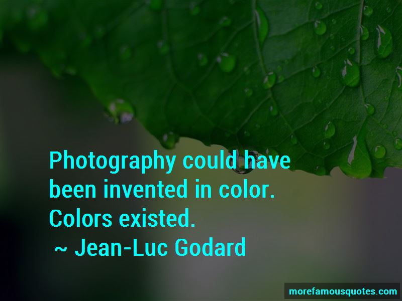 Jean-Luc Godard Quotes