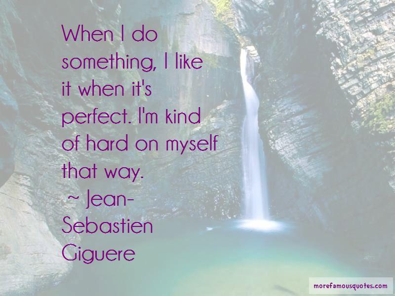 Jean-Sebastien Giguere Quotes Pictures 2