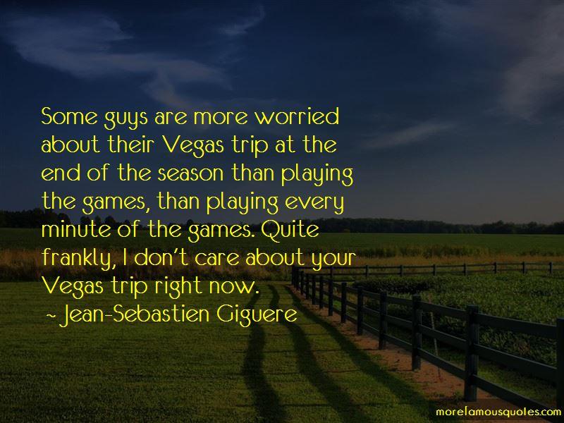 Jean-Sebastien Giguere Quotes Pictures 3