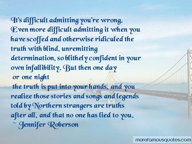 Jennifer Roberson Quotes Pictures 3