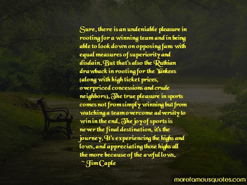 Jim Caple Quotes