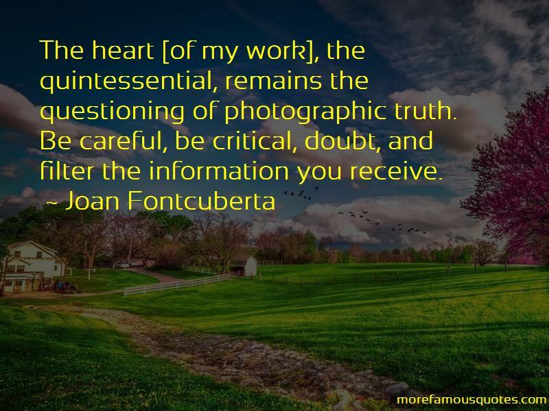 Joan Fontcuberta Quotes Pictures 3