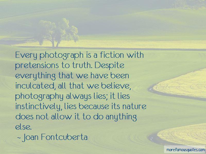 Joan Fontcuberta Quotes