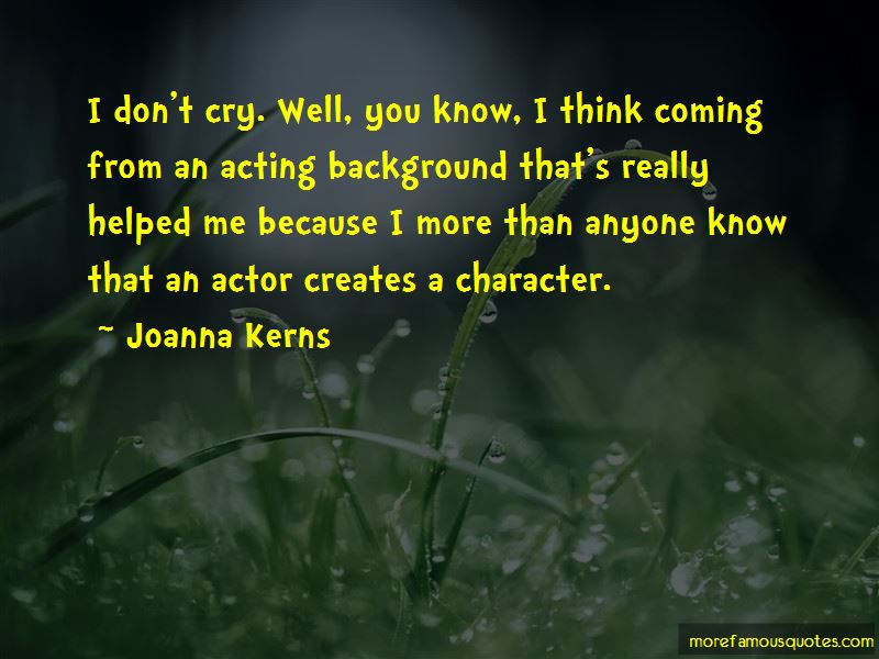 Joanna Kerns Quotes Pictures 3