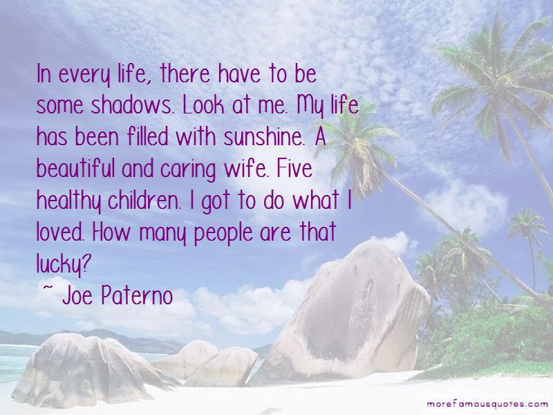 Joe Paterno Quotes