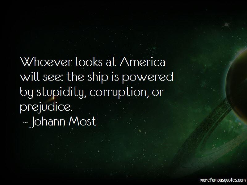 Johann Most Quotes