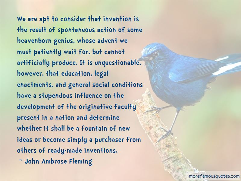 John Ambrose Fleming Quotes Pictures 2