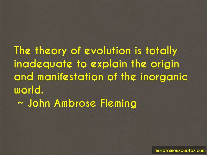 John Ambrose Fleming Quotes Pictures 3