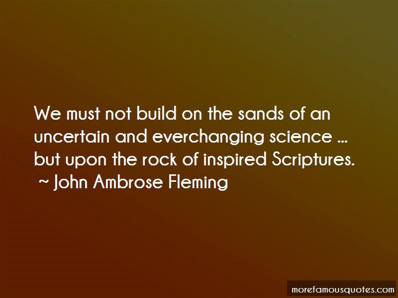 John Ambrose Fleming Quotes