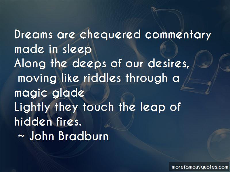 John Bradburn Quotes