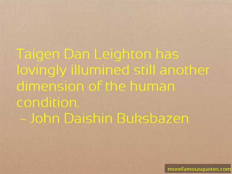 John Daishin Buksbazen Quotes