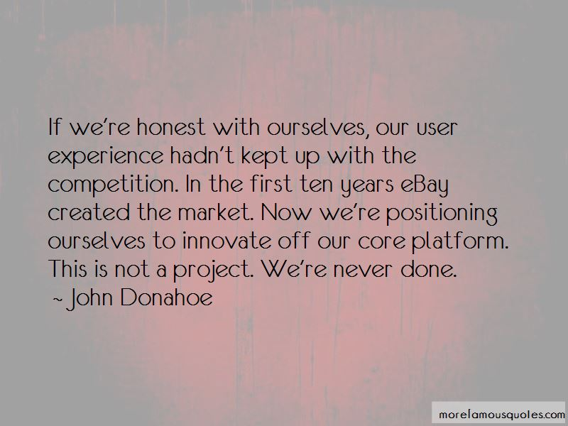 John Donahoe Quotes