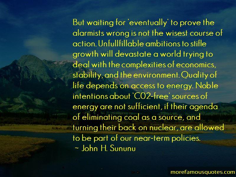John H. Sununu Quotes